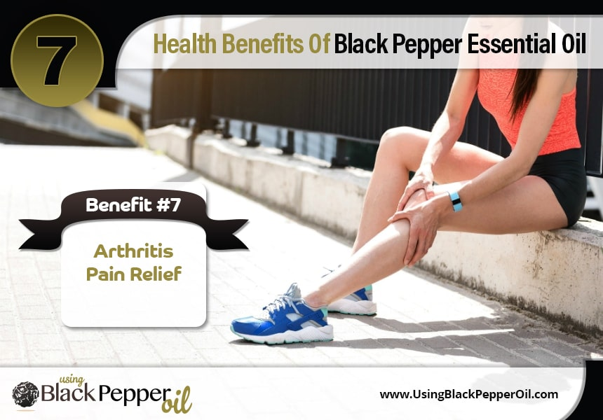 black pepper oil uses