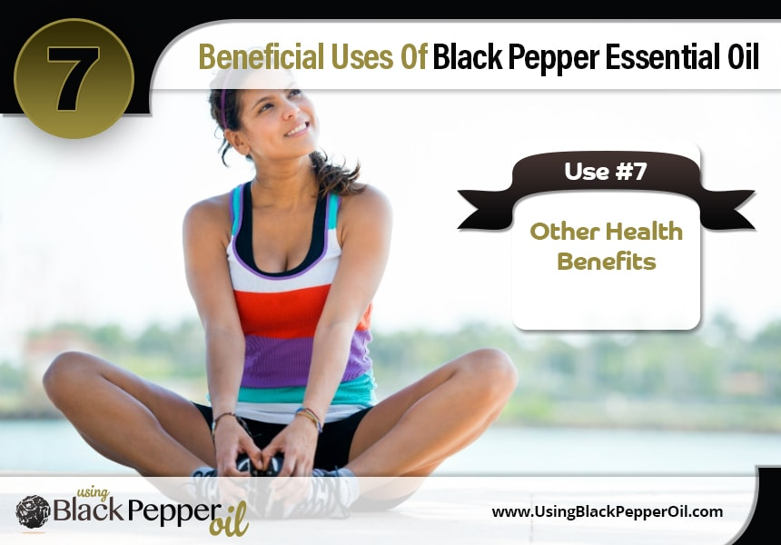 how to use black pepper essential oil